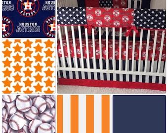 Houston Astros Baby Bedding