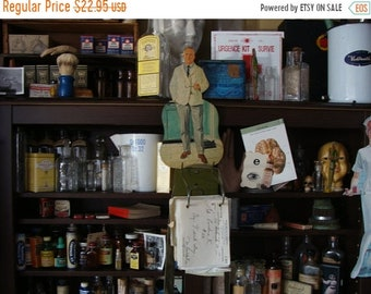 ONSALE Rare Antique Medical Vintage Doctor Classroom Cutout from Teachers Estate