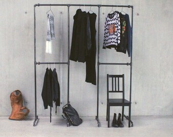 Clothes Rack industrial style - FRANKIE