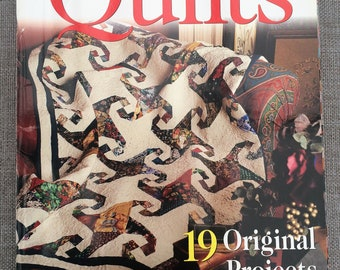 Sensational Quilts 19 Original Projects Quilting Magazine, Craft Magazine, Quilt Designs Booklet