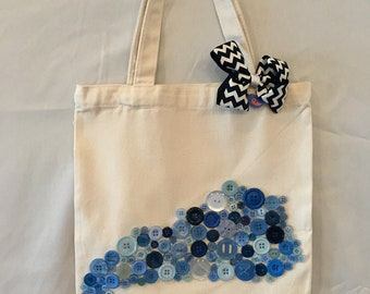 Kentucky Button Tote