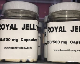 100% pure Royal Jelly - 100 capsules