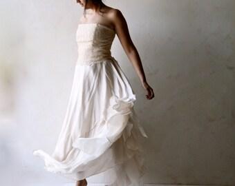 Wedding Dress, Two piece dress, Lace wedding dress, Alternative wedding dress, backless wedding dress, bridal separates, boho wedding dress