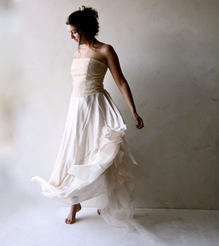 Brautkleid zwei Stück Brautkleid Alternative