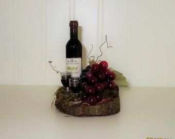 Wine Vineyard Theme Cake Topper