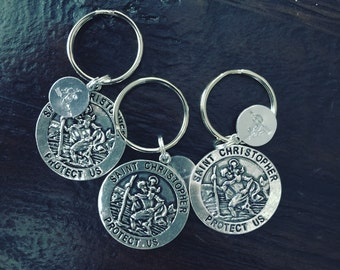 Saint Christopher Key Chain