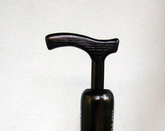 Walking Cane - Louisville Slugger Black Bat Shaft - Fritz Handle
