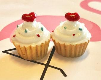 10 piece cupcake charms