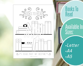 Books To Read Tracker