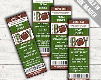 High Quality Search Results. Favorite Favorited. Add To Added. Football Baby Shower  Invitations.