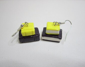 Book Stack Earrings