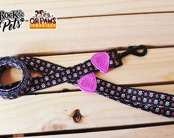 Personalized Leash Design Paws Of Love