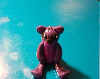 Polymer clay  stich bear