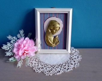Very nice frame with the Virgin Mary icon