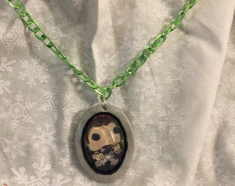 Ghostbusters necklace