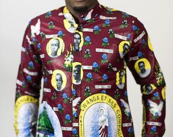 Uganda Martyrs Button Down Shirt