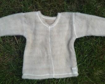 Organic Merino Wool baby sweater