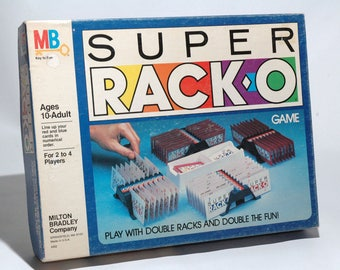 Super Racko Game from Milton Bradley 1983 COMPLETE (read description)
