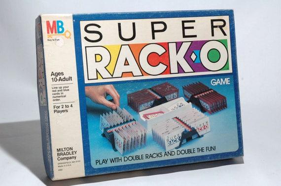 Super Racko Game From Milton Bradley 1983 Complete Read