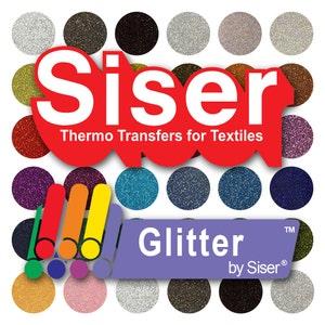 SISER Glitter HTV 12'' x 20'' Sheet