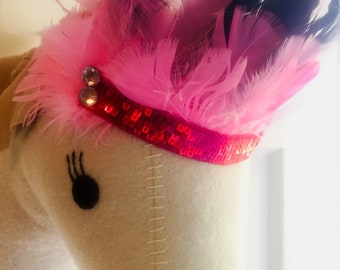 Head dress- Made for tweens, kids and toddlers/adjustable