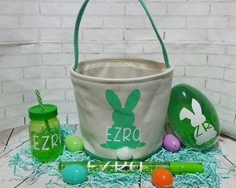 Personalized easter basket bundle