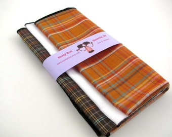 SALE- Three pack discount - SAVE when you choose any three hankies..... with your choice of any of my small prints