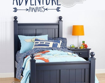 Adventure Awaits- Wall Decal