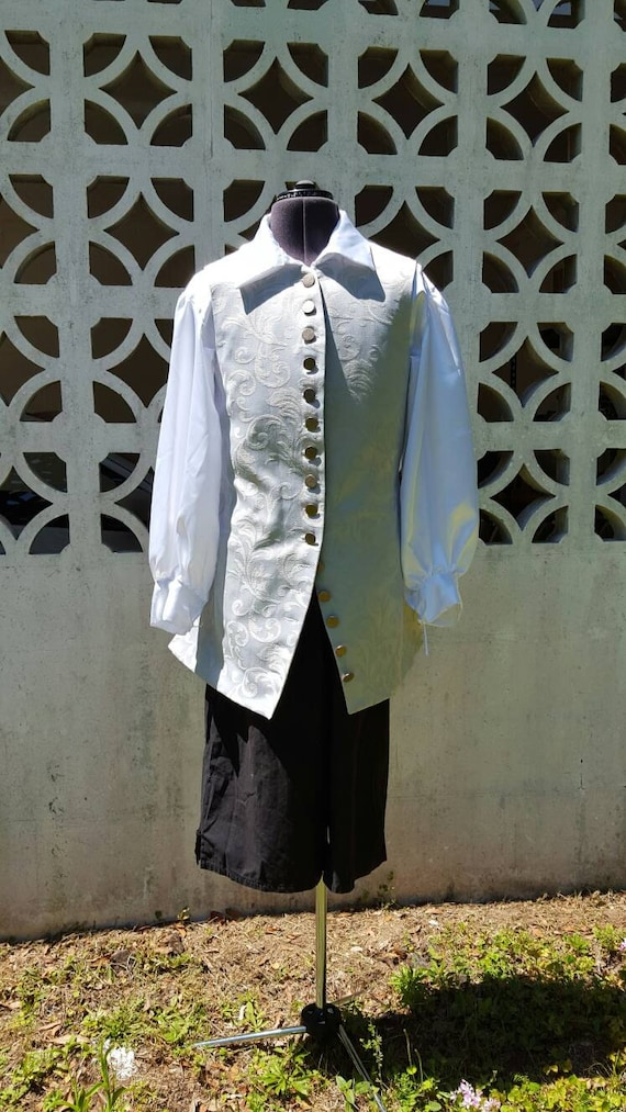 Sparrow Poet Shirt - 100% Cotton - Pirate, Renaissance, Prince, Knight, LARP, Cosplay, Colonial, Jack Sparrow, Captain Hook, Will Turner