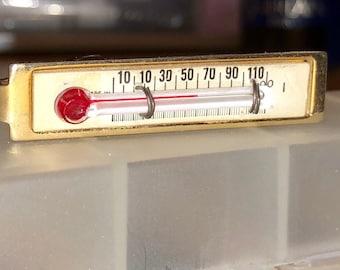 Vintage Thermometer Tie Clip