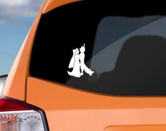 Robin Hood Maid Marian love decal! Great for your car, laptop, iPad or phone. Great gift for any Disney Robin Hood fan or Mother's Day Mum!