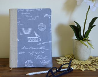 Journal cover, notebook cover A5 notebook included - Around the world