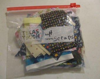 Cotton Fabric Scraps -- H