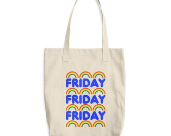 FRIDAY Magazine Cotton Tote Bag