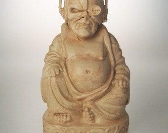 "Iron Maiden - Eddie ""Somewhere in Time"" Buddha (Antiqued Sand)"