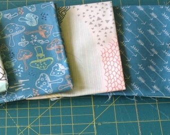 Art Gallery Fabrics Fat Quarter Pack 4, Hello Bear