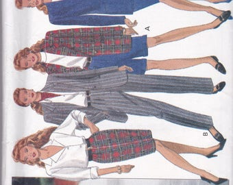 Butterick 6405 Vintage Pattern Womens Jacket, Skirt, Shorts and Pants Size 12,14,16 UNCUT