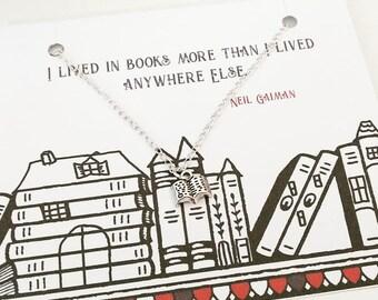 Collier Book lover Neil Gaiman citation