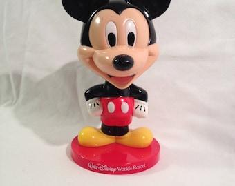 DIsney World Resort Mickey Mouse Bobble Head