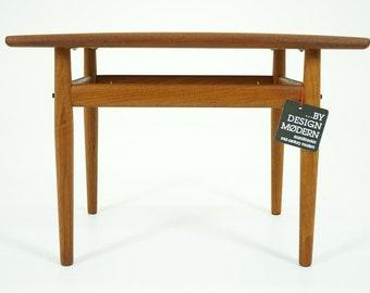 D313 Teak Side Table Danish Mid Century Modern