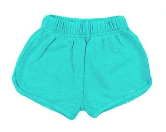 Girl's French Terry Short, Baby Girl shorts, Girl's Shorts, Baby Shower, Baby shorts, Baby clothes, El Sol Short