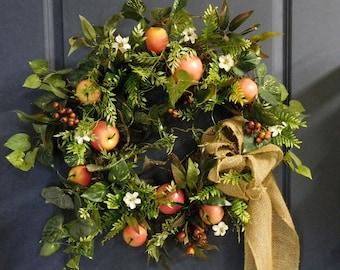 Front Door Wreath , Summer Wreath , Front Door Wreath , Spring Door Wreath , Summer Door Wreath , Wreath For Spring , Wreaths