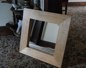 Handmade Recycled Timber Mirror Frame #1