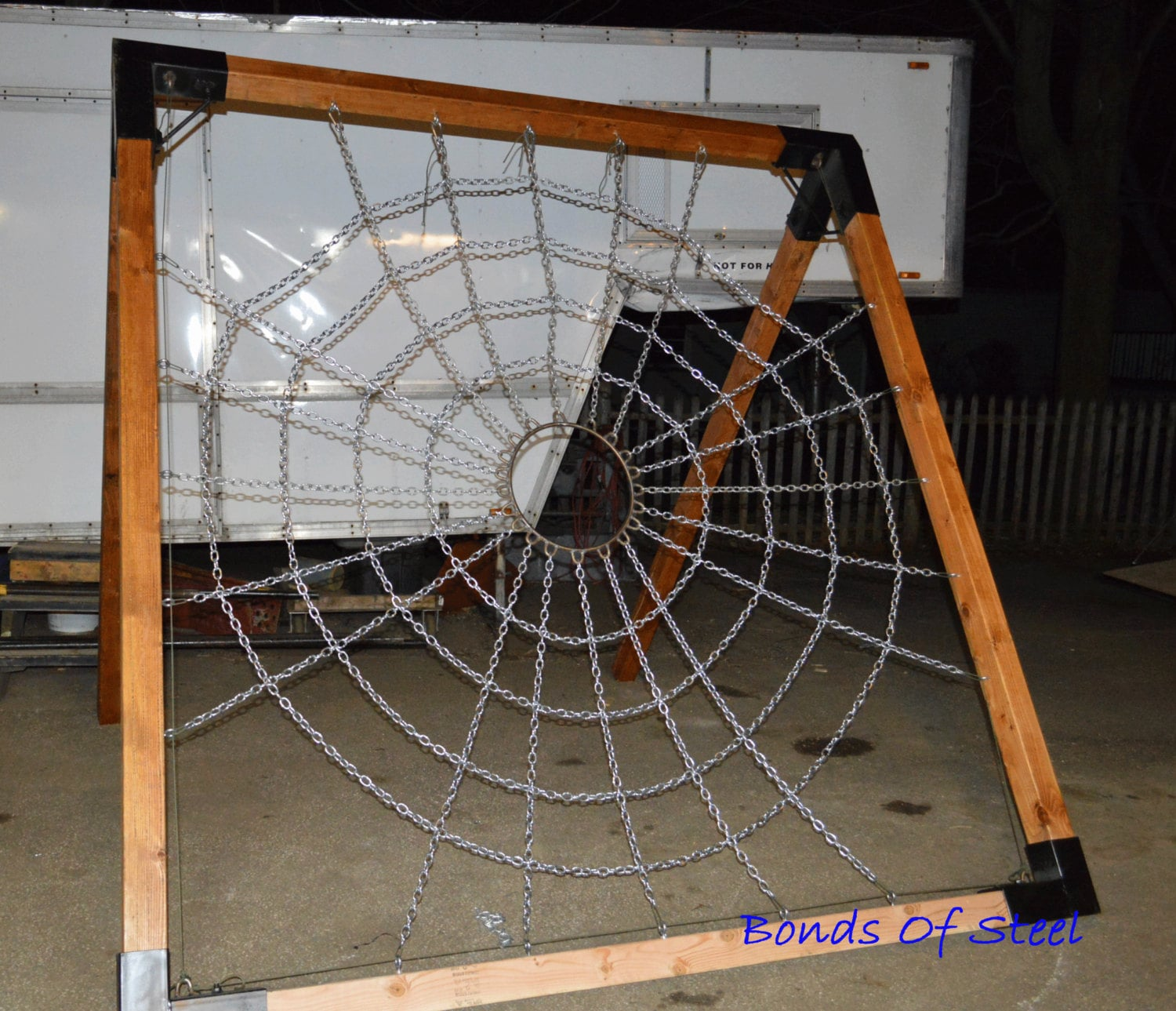 Spider Web Suspension Frame Mature Bonds Of Steel Bdsm Gear