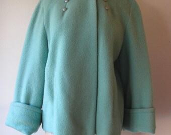 1950s Aqua Coat