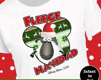 Disneyworld Christmas Shirt, Disneyland Christmas Shirt, Fleece Navidad Shirt, Disneyworld Christmas Tank, Disney Christmas Shirt