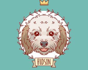 Pet portrait, Dog portrait, Custom pet painting, Pet tattoo art, Pet illustration, Whimsical dog art, Pet memorial, Custom dog cartoon