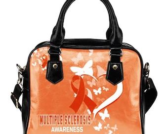 Multiple Sclerosis Awareness Shoulder Bag / Handbag