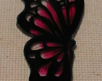 Shrinky Dunk Butterfly Charm