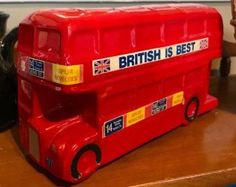Vintage London Bus Bank